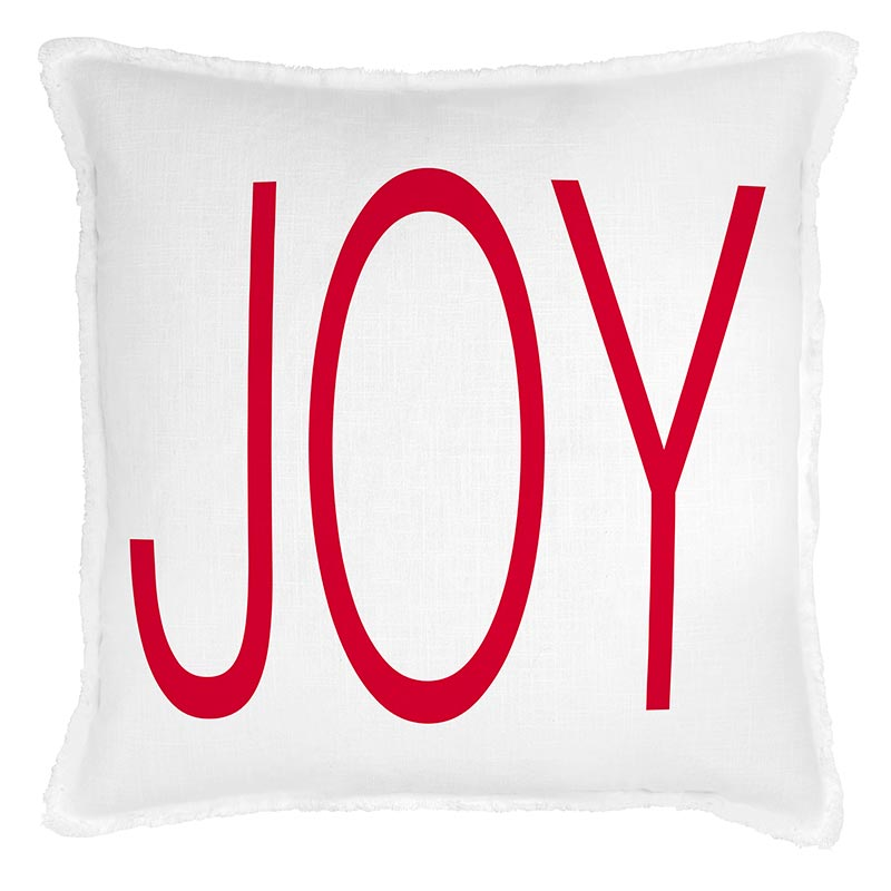 G5803 - Face to Face Euro Pillow- Joy by CBGifts