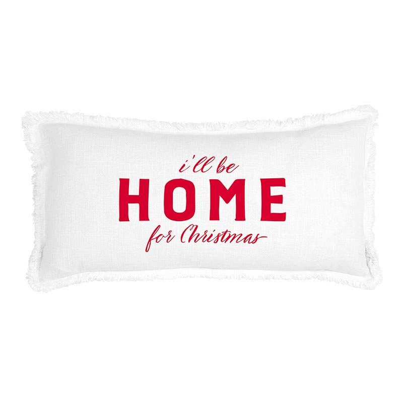 G5810 - Face to Face Lumbar Pillow - I'll Be Home by CBGifts