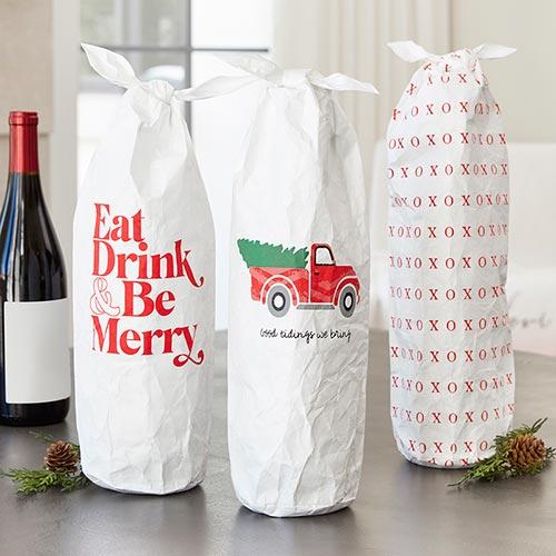 Wine Bags + Glasses